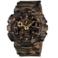(CASIO)[CASIO Casio] G-SHOCK Explorer Camouflage Electronic Sports Watch/GA-100CM-5A