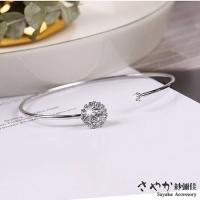 (SAYAKA)[Sayaka Yoshiya] 925 sterling silver time flow diamond bracelet