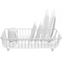 (Kitchen Craft)KitchenCraft Simple Dish Drainer (White)