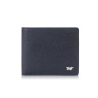 (BRAUN BUFFEL)BRAUN BUFFEL 8 card wallet-blue/BF354-313-NY