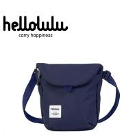 (Hellolulu)Hellolulu Desi Casual Side Backpack - Dark Blue