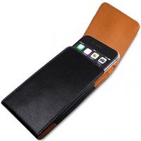 Apple iPhone 7 Plus 5.5 吋腰掛直立式荔枝紋皮套+ 螢幕保護貼