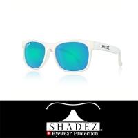 [Switzerland SHADEZ] Top Polarized Sunglasses White Frame Sky Blue 7-16 Years Old SHZ409