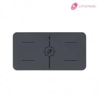 (Liforme)[Liforme] Mini Yoga Mat-Gray