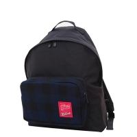 (Manhattan Portage)1209 WOOLRICH Big Apple Backpack Blue Black