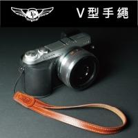 V型相機手繩-復古棕