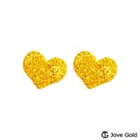 (Jove Gold)Jove gold sweet whisper gold earrings