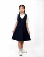 V3 Premium School Uniforms_Primary Girls Short Sleeve White Shirt_SUPER WHITE