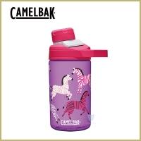 (camelbak)CamelBak 400ml Chute Mag Children's Outdoor Sports Water Bottle-Colorful Zebra