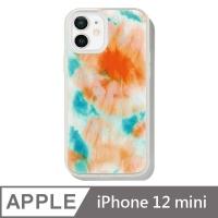美國 Sonix iPhone 12 mini Orange Glow 螢光釉藍抗菌軍規防摔手機保護殼