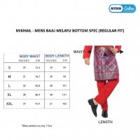 Mikhail Men Metalic Sateen - 8 Colours 0819BCW