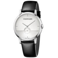 (calvin klein)Calvin Klein CK gentleman simple small seconds belt watch (K9H2X1C6) 43mm
