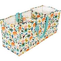 (Rex LONDON)Rex LONDON three-compartment eco-friendly storage bag (tropical animals)