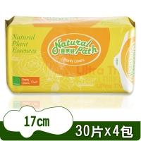 (Natural Path)Naturally good original herbal sanitary napkin pad type (17cmx30 pieces x 4 packs)