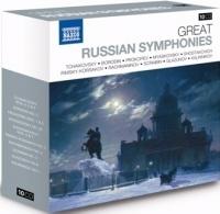Russia's most popular symphonies 10CD