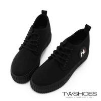 (tw shoes)Hi word canvas strap thick platform casual shoes [K134IEJ008]