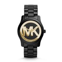 (Michael Kors)Empire Michael Kors Fashion Classic LOGO Black Watch