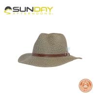 (sundayafternoons)Sunday Afternoons Women's Anti-UV Breathable Elegant Gentleman Hat Linen Brown Coronado Hat