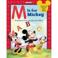 (Disney Press)M is for Mickey 米老鼠教你學字母(厚頁書)(外文書)