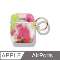 美國 Sonix AirPods Watermelon Glow 螢光釉彩保護套