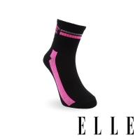 (ELLE)ELLE Paris Star Women's Socks-Black