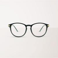 (aslly)[ASLLY] All-match must-have black frame blue light filter glasses
