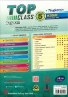 (PENERBITAN PELANGI SDN BHD)TOP CLASS SEJARAH TINGKATAN 5 KSSM 2021