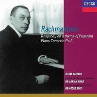 (DECCA)拉赫曼尼諾夫:第2號鋼琴協奏曲、帕格尼尼主題狂想曲 CD