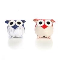 Cai Yu e Laurel Doll-Owl (M) Taiwan Handmade Puppet Doll Pillow Home Decoration
