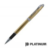 PLATINUM Platinum color pen carved silver clip ball pen WKG-1000