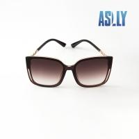 (aslly)[ASLLY] temperament ladies big frame sunglasses/sunglasses