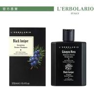 L'ERBOLARIO Lei Liou black juniper vitality bath shampoo 250ml