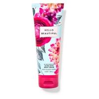 """Bath & Body Works BBW"" fragrance moisturizing body cream [Hello!] Hello Beautiful 226g beauty"