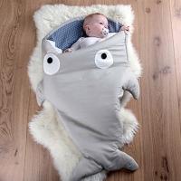 "(Baby Bites)Spain [made] a shark bite BabyBites 100% cotton handmade baby / children sleeping bag | Anti Tipi | Baojin ""Standard Edition"" kh"