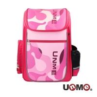 (unme)【UnMe】 Hall Mesh Spine Decompression Schoolbag-Pink