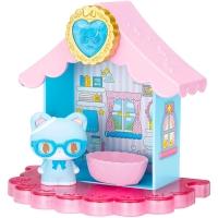 (letoy)Sanrio Moe Kelu Doll Cat House Set Shu Shu (Mengmeng Cat)