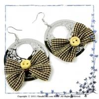 [TAITRA] Gina&Chia French-Style Elegant Luxurious Sweat Earrings