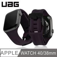 (UAG)UAG Apple Watch 38/40mm Trendy Silicone Strap-Purple