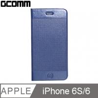 (GCOMM)GCOMM iPhone 6S/6 Embossed Dots Fashion Dot Microfiber Leather Case Elegant Blue