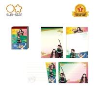 (sun-star)[Sun-star] Japanese Imported Demon Slayer A6 Note Paper Demon Slayer Four Team