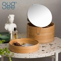 (Gudee)JULI double-layer jewelry with mirror box