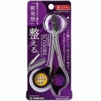 日本GB綠鐘專利設計達人級眉毛修容剪-GT-310