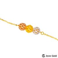 (Jove Gold)Jove Gold 漾金??定三生金 Bracelet - Small