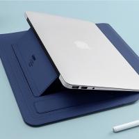[BUBM] Magnetic triple pen holder admission package -14 electric blue