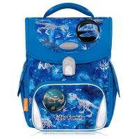 (tigerfamily)Tiger Family Elementary School Child Guarding Safety Light Ultra Lightweight Ridge Guard School Bag-Dinosaur Fossil