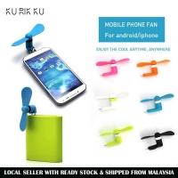 Portable Mini Fan For Apple ios Samsung Android Smart Phone Handphone Fan Random Colour