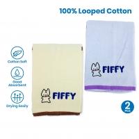FIFFY BABY BATH TOWEL (2 PCS / PACK)