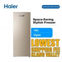 Haier BD-168WL 160L Digital Upright Freezer Peti Beku with R600a Refrigerant