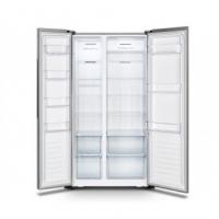 Hisense (620L) Side By Side Refrigerator Fridge Peti Sejuk (KV RM80) RS666N4AC1