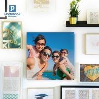 "Photobook Square Canvas Print (12"" x 12"")"